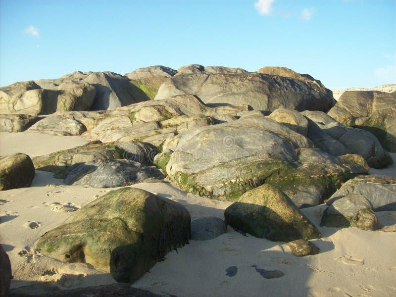 Rocce in Vila Nova de Gaia, Portogallo fotografia stock libera da diritti