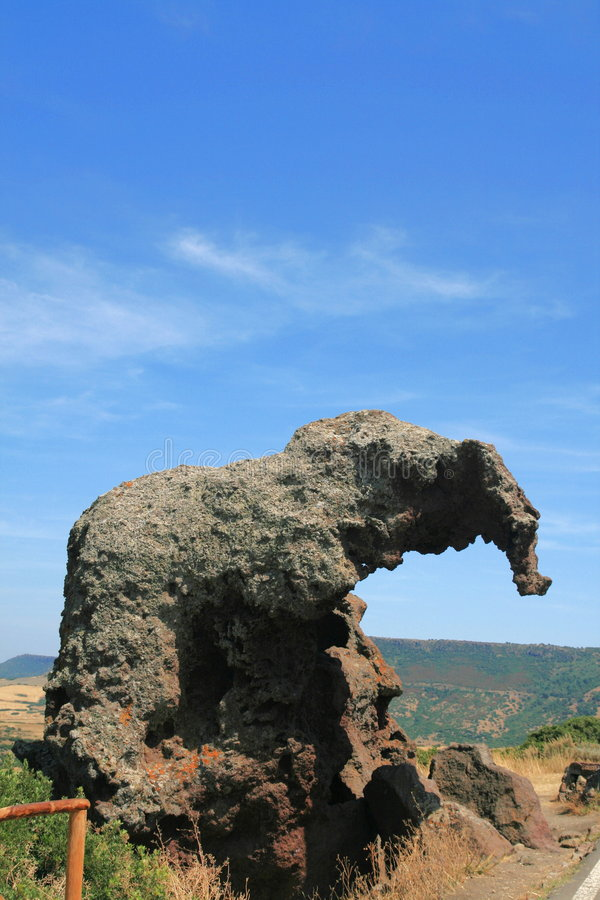 roccia Σαρδηνία κοιλάδων elefante στοκ φωτογραφίες με δικαίωμα ελεύθερης χρήσης