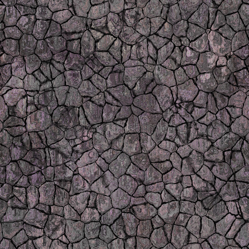 Roccia come la parte posteriore approssimativa della parete asciutta della superficie di progettazione irregolare dura di struttu fotografie stock libere da diritti