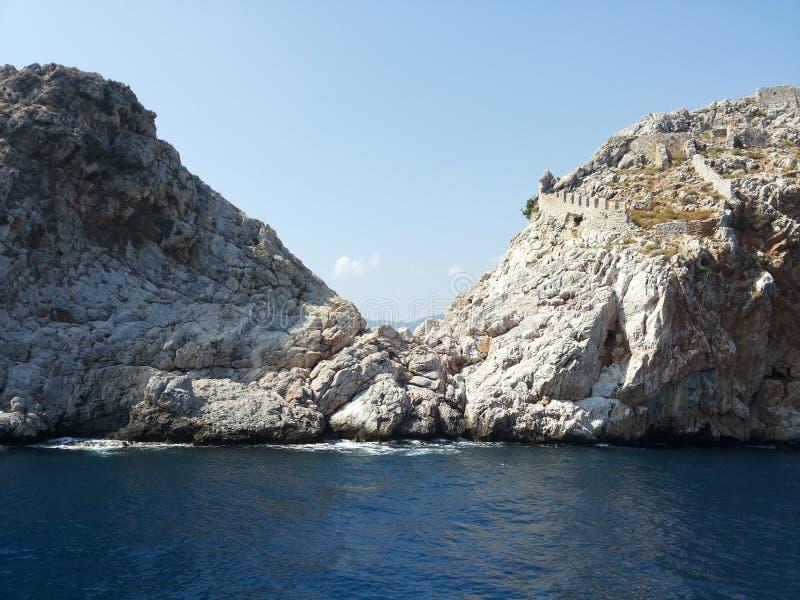 Roccia del mare immagini stock