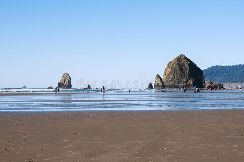 Roccia del mucchio di fieno, Oregon fotografia stock libera da diritti