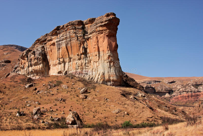 Roccia dell'arenaria fotografie stock libere da diritti