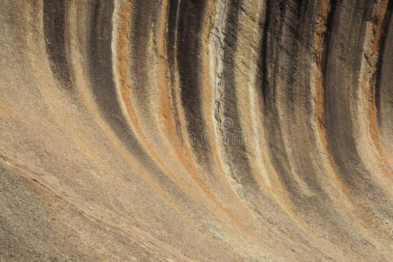 Roccia dell'onda immagini stock