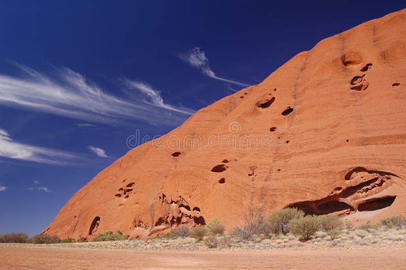 Roccia di Ayers fotografia stock libera da diritti