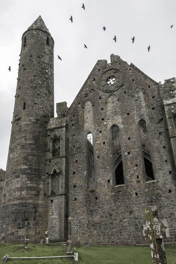 Roccia di Cashel - contea Tipperary - Repubblica Irlandese immagine stock libera da diritti