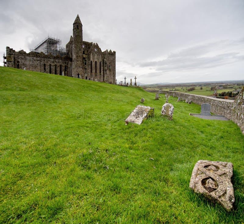 Roccia di Cashel Irlanda fotografie stock