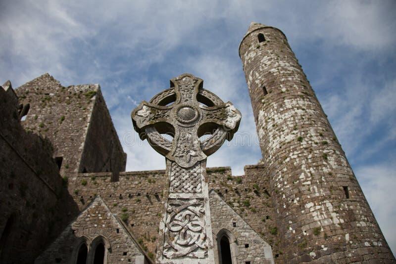 Roccia di Cashel, Irlanda fotografia stock libera da diritti