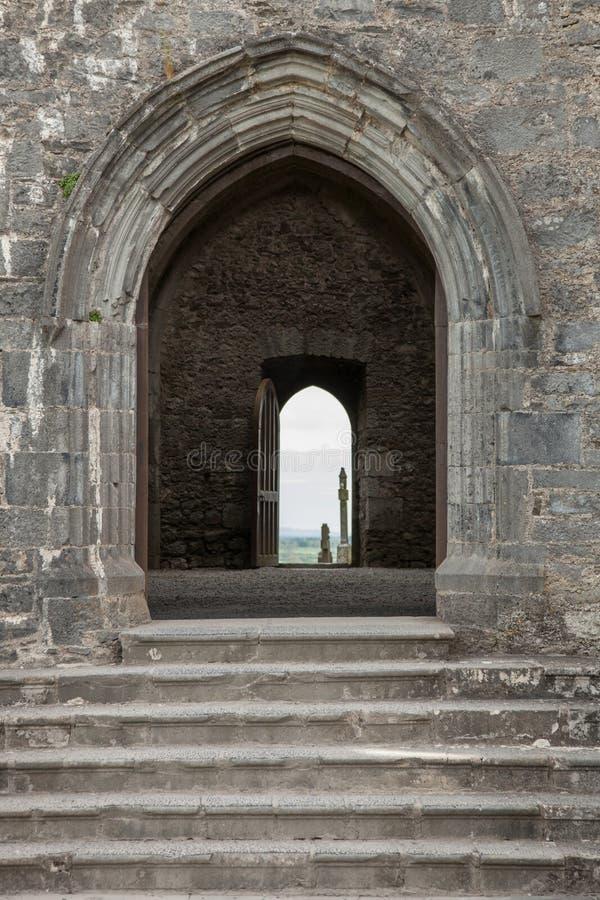 Roccia di Cashel, Irlanda immagine stock libera da diritti
