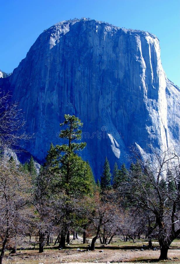 Roccia di EL Capitan fotografie stock