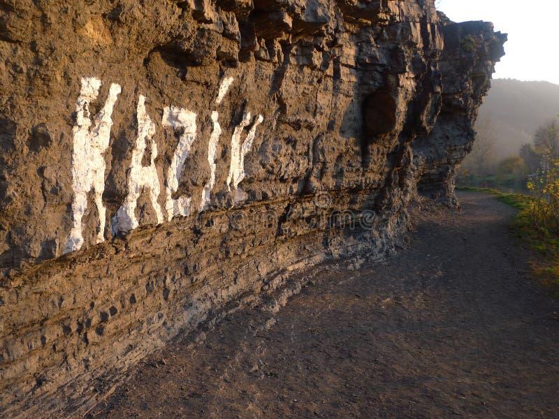 Roccia di Kazin immagine stock