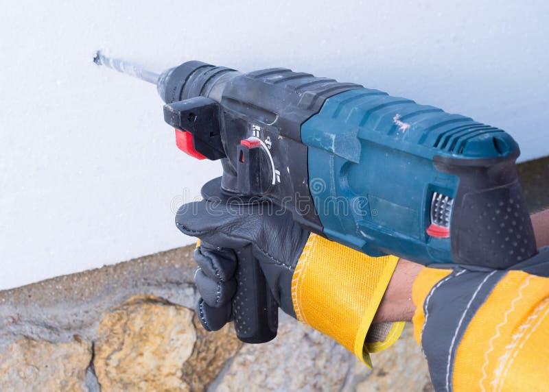 Roccia-dril fotografie stock libere da diritti