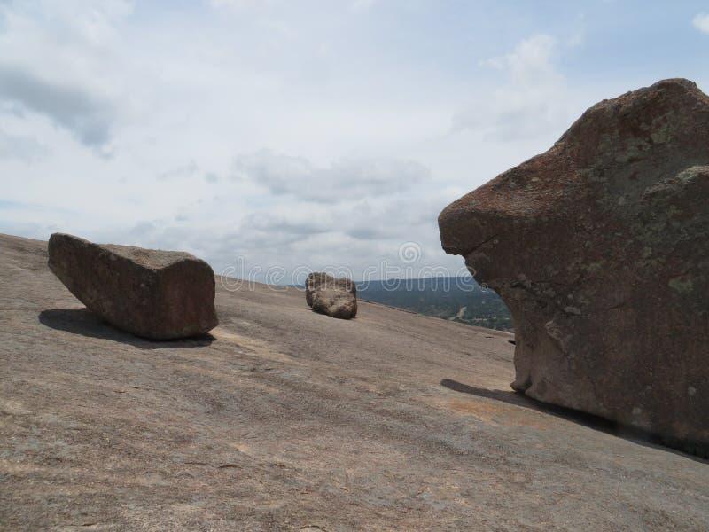 Roccia incantata, il Texas fotografia stock libera da diritti