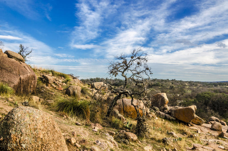 Roccia incantata il Texas fotografie stock