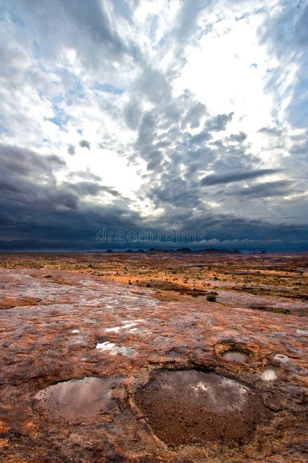Roccia lunare fotografia stock