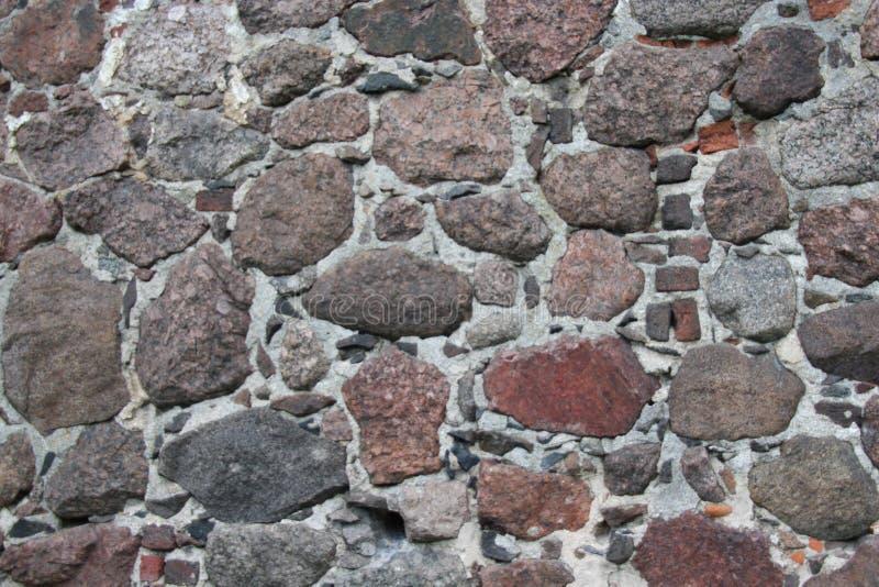 Roccia, parete di pietra grigia fotografia stock libera da diritti