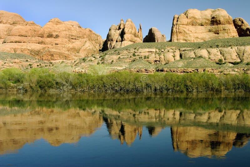Roccia rossa in Arizona fotografia stock libera da diritti