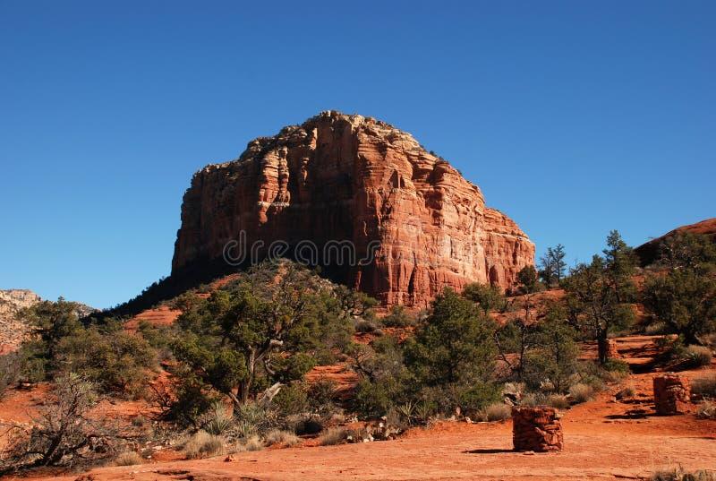 Roccia rossa vicino a Sedona, Arizona immagini stock