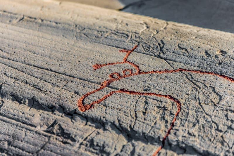 A rocha Art Centre Alta Museum do patrimônio mundial fotos de stock