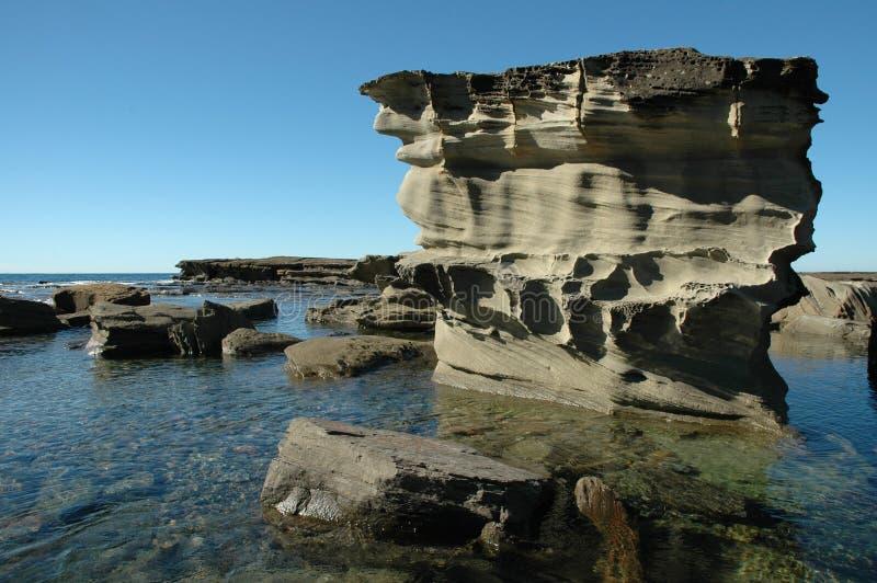 A rocha associa Sydney imagem de stock