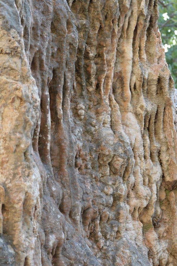 A rocha balança a escalada de pedra da textura fotografia de stock