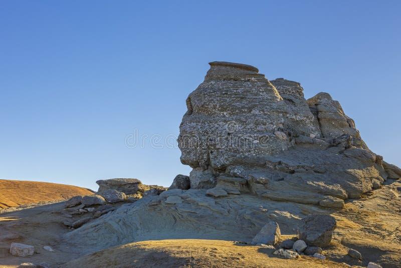 A rocha da esfinge foto de stock royalty free