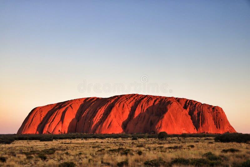 Rocha de Ayers, Austrália imagens de stock royalty free