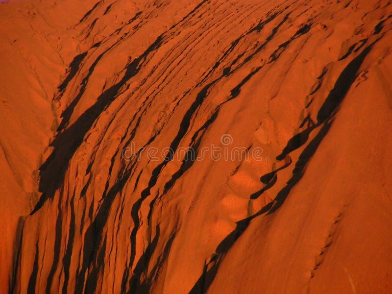 Rocha de Ayers - Uluru fotos de stock