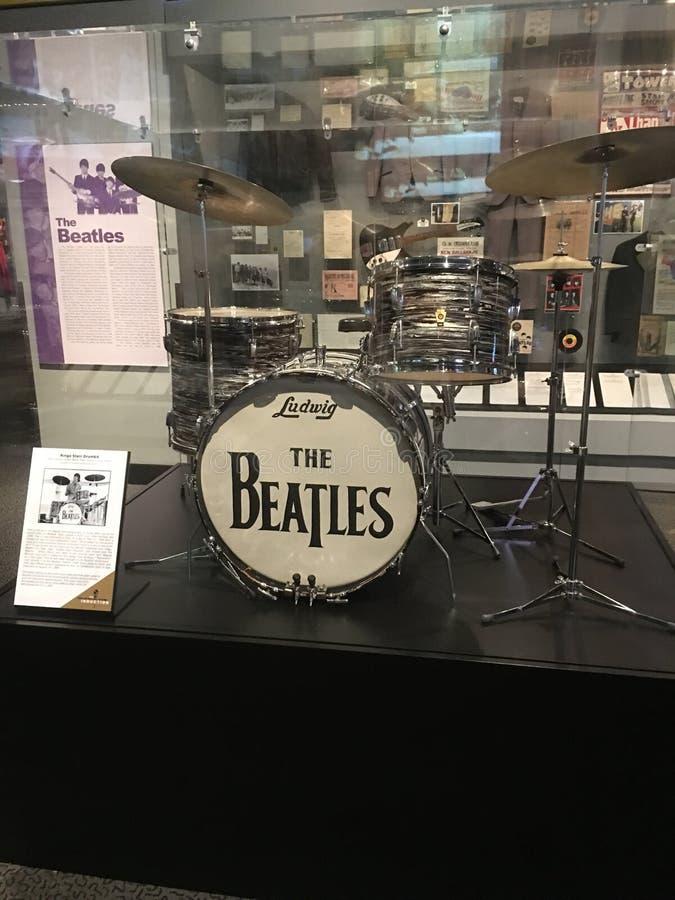 Rocha de Beatles! imagens de stock