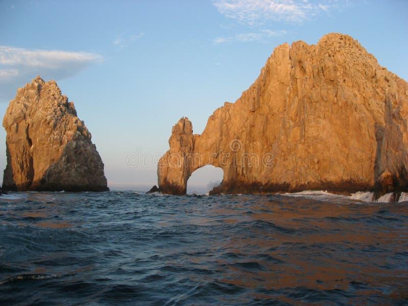 Rocha de Cabo foto de stock royalty free