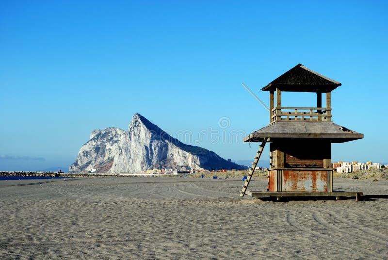 Rocha de Gibraltar. fotografia de stock royalty free