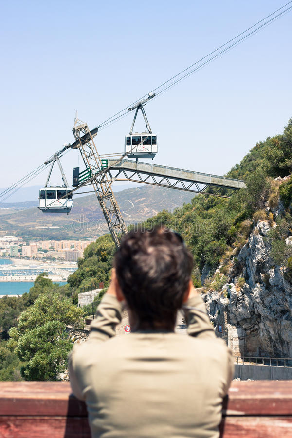Rocha de Gibraltar imagem de stock royalty free