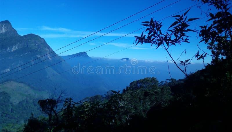 Rocha de Meemure em Sri Lanka bonito imagem de stock royalty free