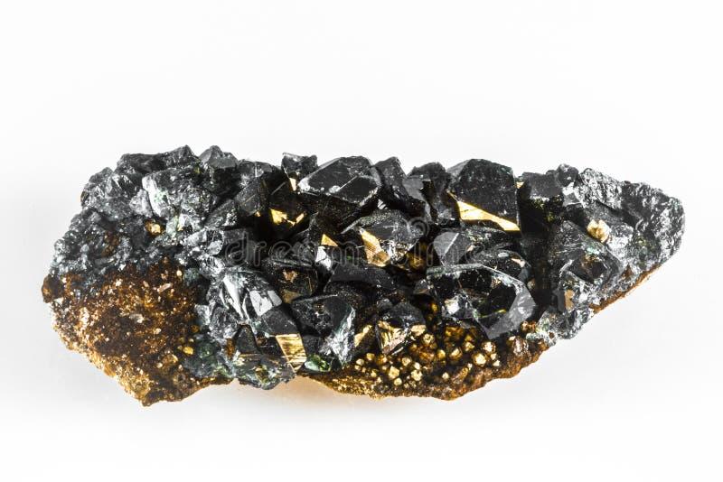 Rocha de mineral de Lazulite foto de stock