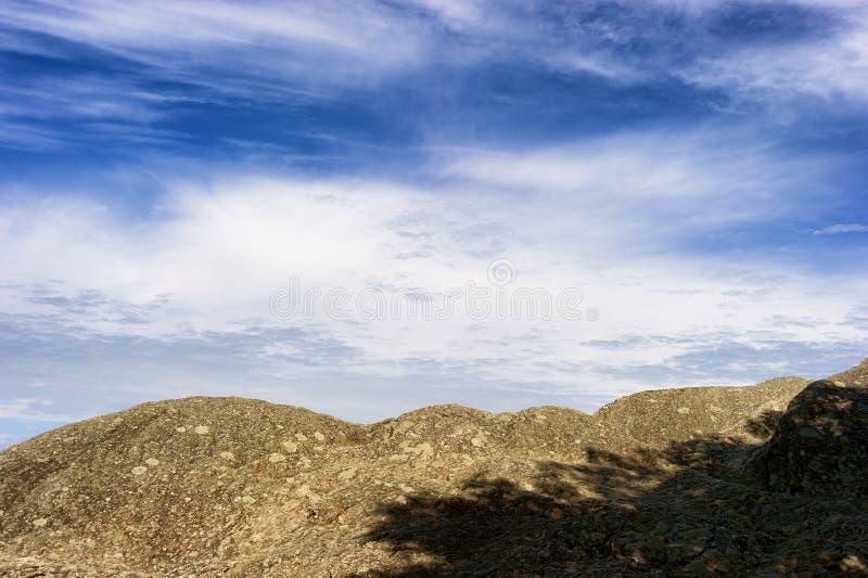 Rocha de sopro na rocha de sopro North Carolina imagens de stock royalty free
