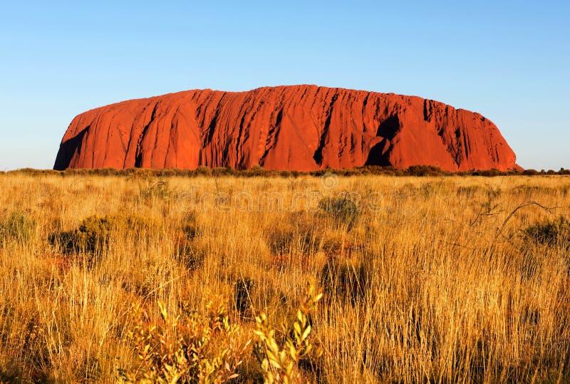 Rocha de Uluru Ayers, Território do Norte, Austrália imagem de stock royalty free