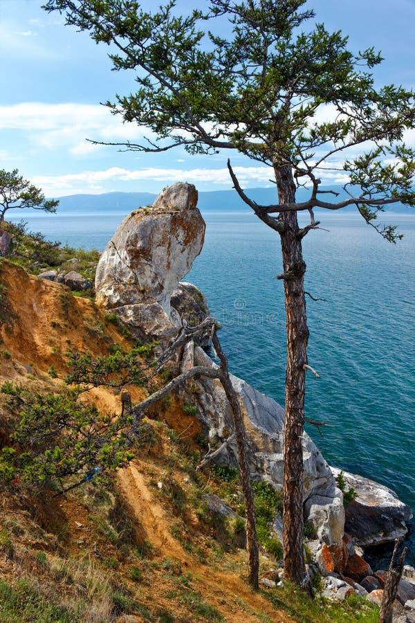 Download Costa de Olkhon da ilha foto de stock. Imagem de beleza - 29835162