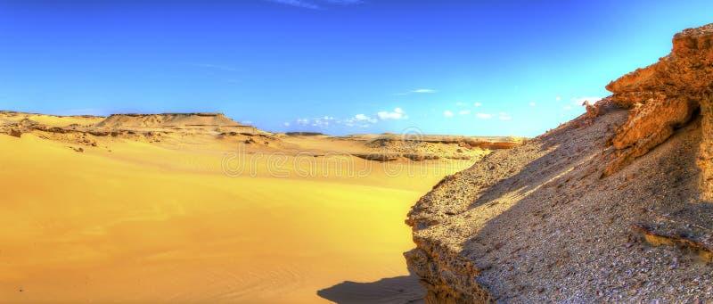 Rocha e areia fotografia de stock