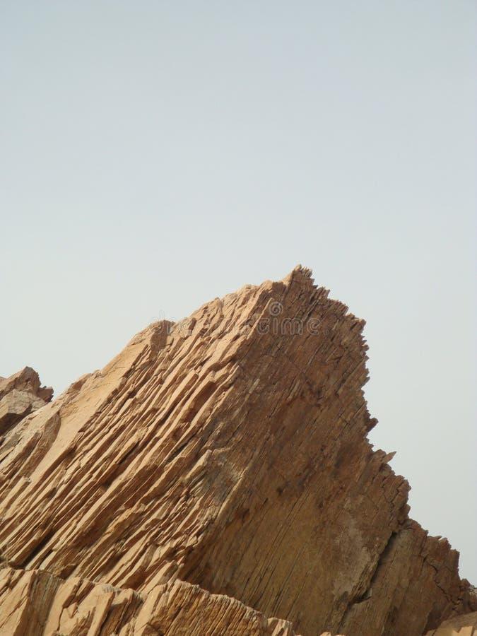 Rocha em Sultanat de Omã imagem de stock
