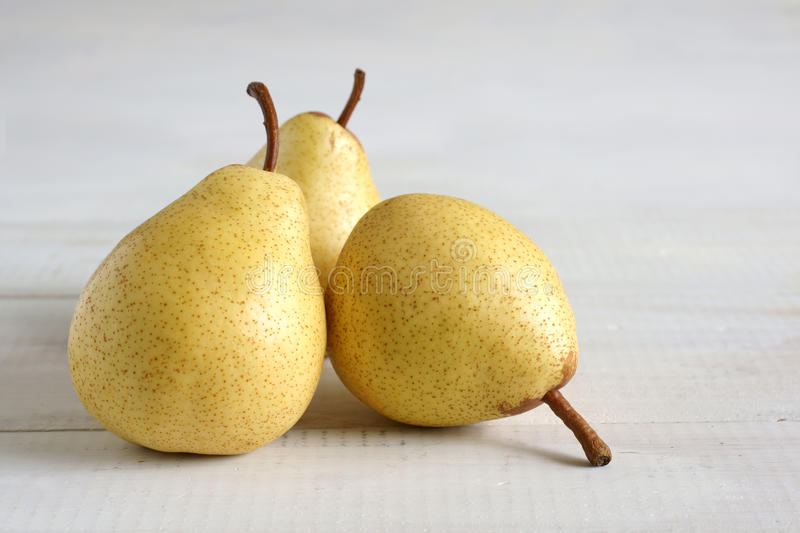 Rocha Pears. A juicy and sweet variety native to Portugal royalty free stock photography