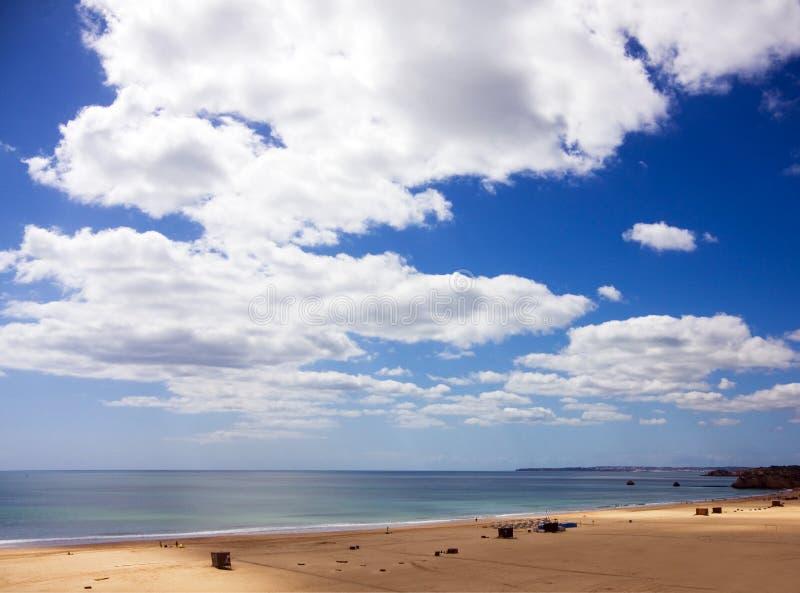 rocha praia da Португалии пляжа algarve стоковое фото rf