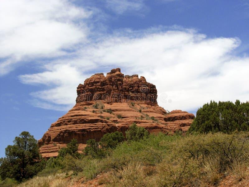 Rocha Sedona de Bell, AZ imagem de stock