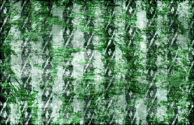 Rocha verde Emo Grunge do punk ilustração royalty free