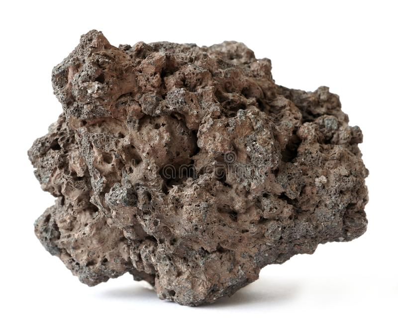 Rocha vulcânica da lava fotos de stock royalty free
