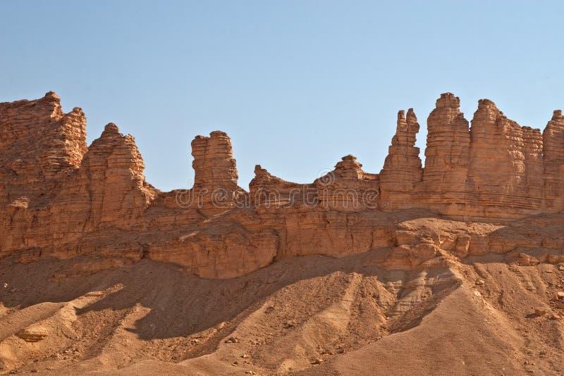 Download Rochas da argila foto de stock. Imagem de paisagem, sujeira - 12809110