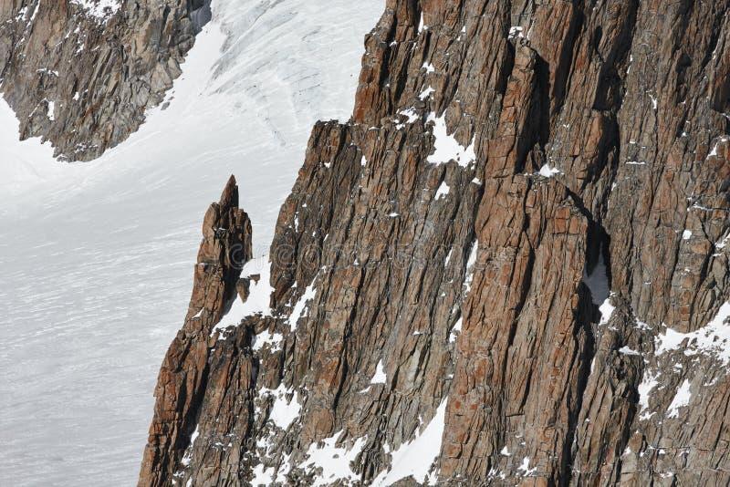 Rochas da montanha imagens de stock