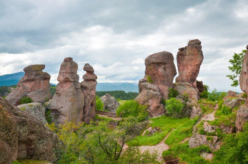 Rochas de Belogradchik foto de stock royalty free