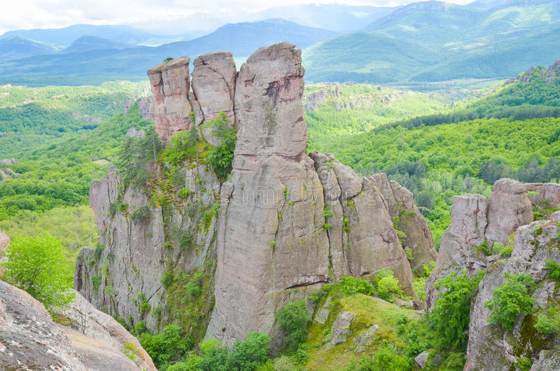 Rochas de Belogradchik foto de stock