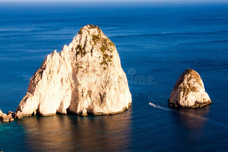 Rochas de Faros imagens de stock