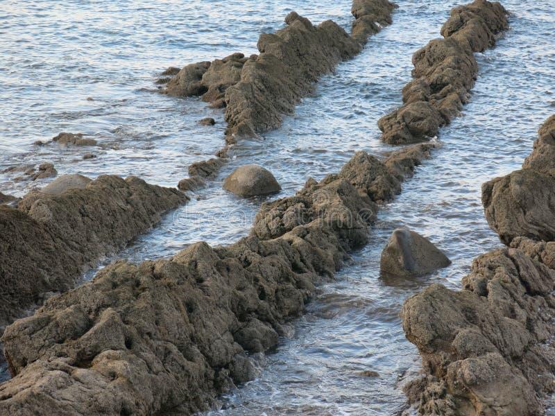 Rochas do mar imagem de stock royalty free