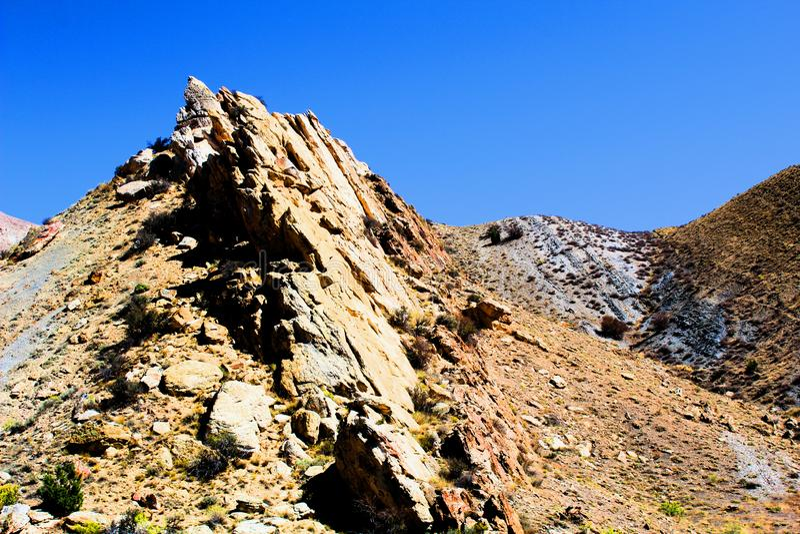 Rochas do monumento nacional do dinossauro fotos de stock